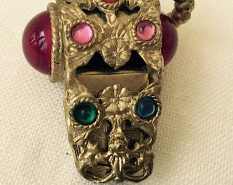 Vintage Bejeweled Whistle