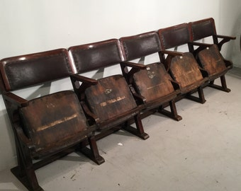 Early 20th Century Cinema Chairs