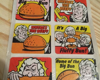 Where's The Beef Flip Flap Sticker Pack