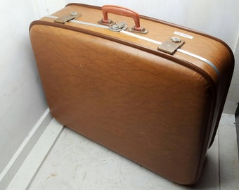 Vintage Suitcase Luggage Travel Bag