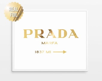 prada marfa etsy. Black Bedroom Furniture Sets. Home Design Ideas