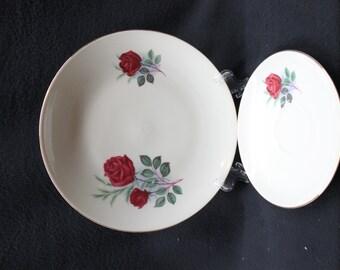 Vintage Bareuther Waldsassen Bavaria-Germany Set of 2 Plates
