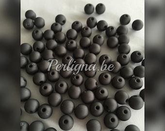 100 pieces - Beautiful acryl beads