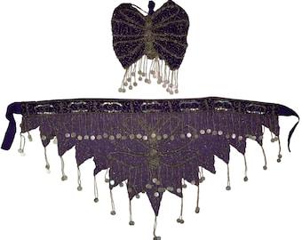 Belly Dancing Butterfly Set - Top & Bottom