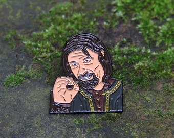 One does not simply... Boromir Enamel Pin