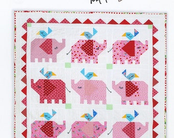 Little Elephant Quilt Pattern from Bronwyn Hayes
