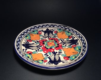Small Talavera Round Plate