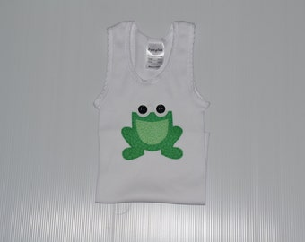 Frog Applique Singlet