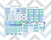 Narwhal I Need Weekly Kit ~ Planner Stickers
