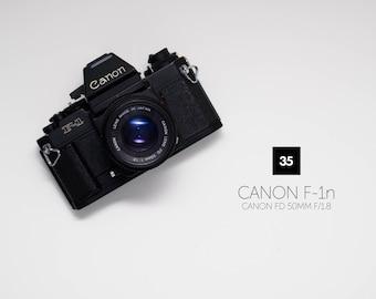 Canon F-1n w/ Canon FD 50mm f/1.8