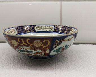 Gold Imari schaal / bowl