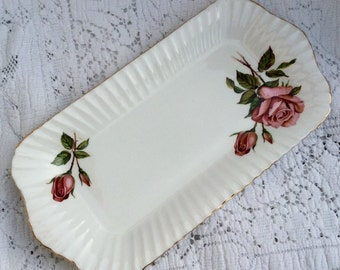 Pretty In Pink-1960s Paragon Tray