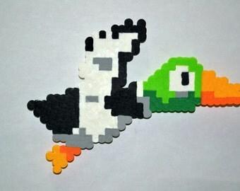 Duck Hunt (Duck) Perler Magnet