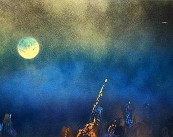 Silence, Original Painting