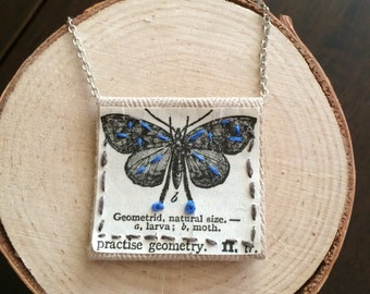 Handmade Butterfly pendant