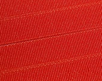 Mango Tango Orange Grosgrain Ribbon     (05-##-S-194)