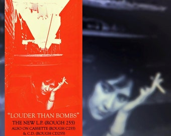 "The Smiths ""Louder Than Bombs"" 12x24"" poster"