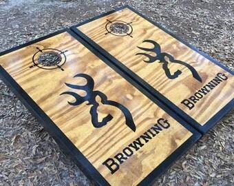 Browning Cornhole Set w/ Bean Bags