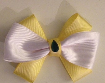 Yellow Bow For Babies