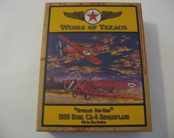 Wings Of Texaco Collectible - 1929 Buhl CA-6 Sesquiplane Collectible
