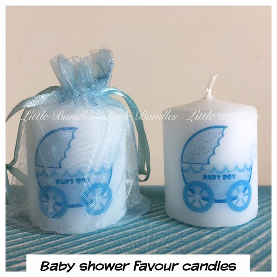 baby shower favours baby boy baby shower favour candles favour