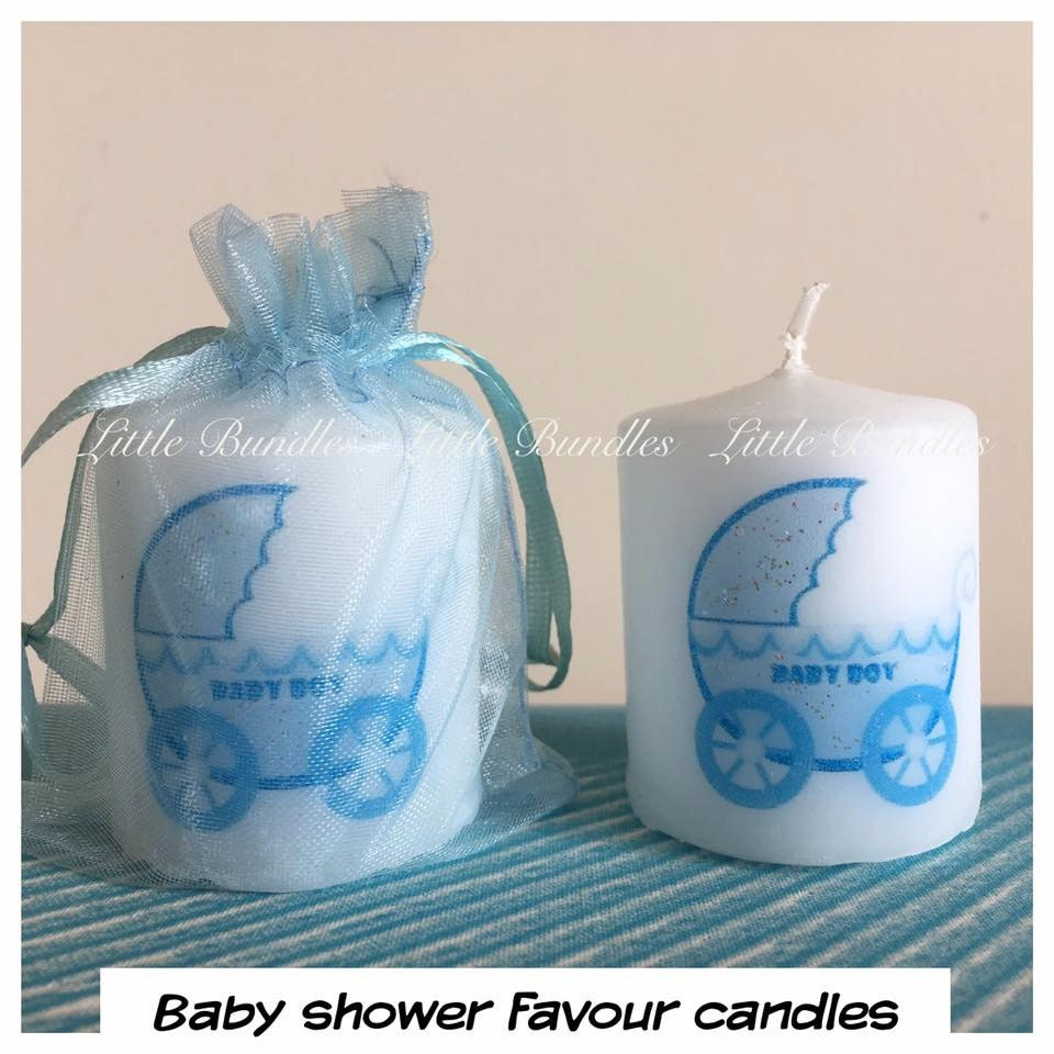 baby shower favours baby boy baby shower favour candles