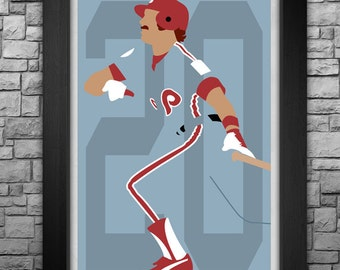 MIKE SCHMIDT minimalism style limited edition art print. Choose from 3 sizes!