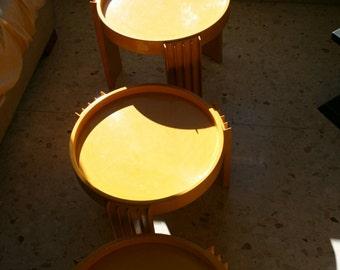 Original Cassina tables designed by Gianfranco Fratteli