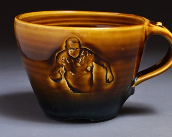 NIXON! BOWLING! Latte Mug