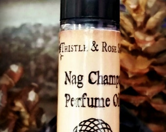 Nag Champa Perfume Oil ~ Ready to Wear Roll On