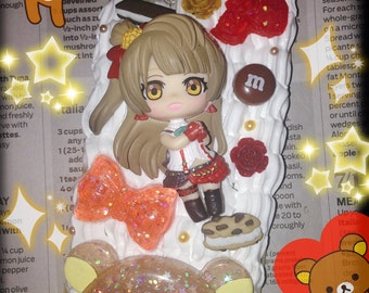 Love Live Kotori Rilakkuma Decoden Case for iPhone 6