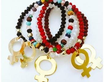 Female Symbol Bracelet