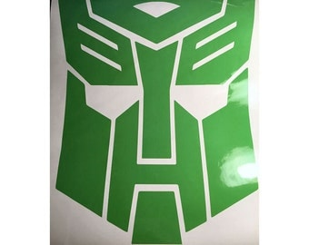 "Transformers Autobot Vinyl Decal 12 x 14"""