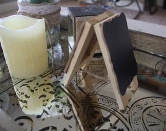 Chalkboard, Dry-Erase Easel Stand, Wedding table, personal message