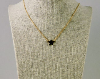 Necklace Star Gold