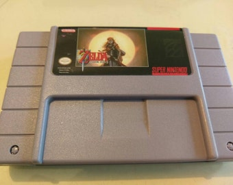 Zelda Starring Zelda 2 - Super Nintendo SNES - Repro English