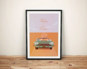 Poster - Thelma and Louise