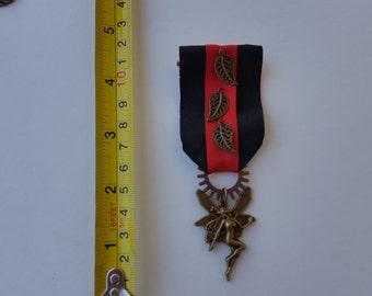 Steampunk fairy medal