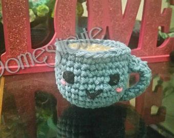 Cuppy the Tea Cup Bath Toy Amigurumi