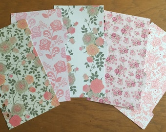 REDUCED Floral Personal Dividers