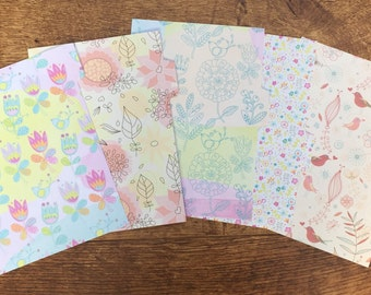 Bright Floral A5 Dividers