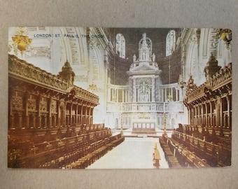 Vintage British Postcard