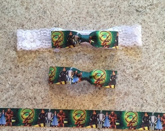Wizard Of Oz Bow, headband, bow tie, hair bow