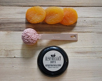 French Pink Clay Facial Scrub