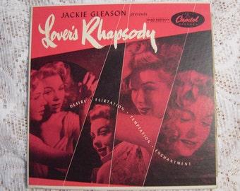 jackie gleason presents lover,s rhapsody vinyl ep
