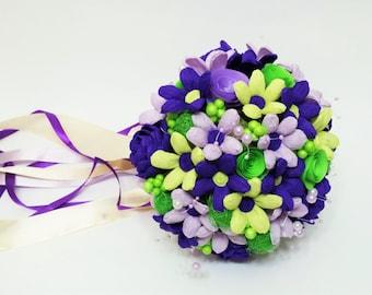 wedding bouquet ,Paper flowers, Bridal bouquet, bridesmaid bouquet, Crepe paper flowers, Wedding flowers, Paper Flowers, Crepe paper bouquet