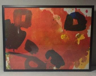 Dyed Felt Painting II