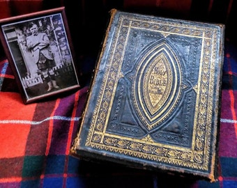 Ancient Scottish Family Bible - First Published 1858