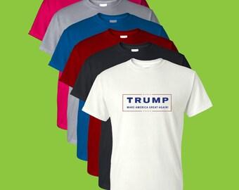 Trump 2016 Short Sleeve T-Shirt (Sizes S-4XL)