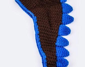 Newborn Baby Dinosaur Crochet Hat With Tail Photo Prop
